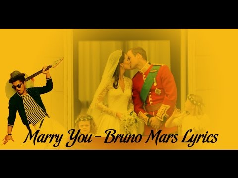 Marry You - Bruno Mars Lyrics 2014 HD (Official Music Video)
