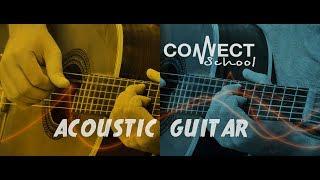 Курсы игры на гитаре CONNECT School (г. Москва) - Обучение игре на акустической гитаре