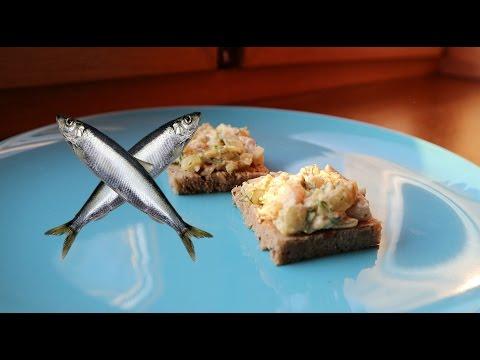Видео рецепт Датской селедки или рецепт форшмака из селедки.