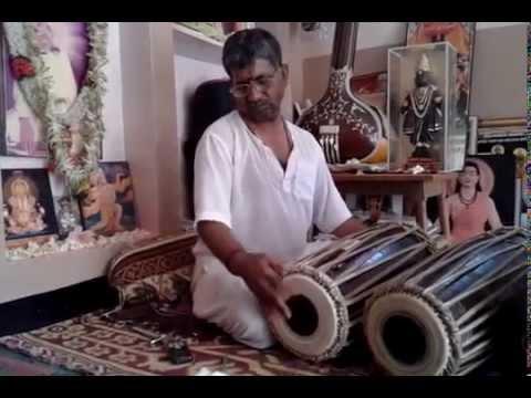 केरवाह ताल पखावज पर Taal Kerva On Pakhawaj_Pt. Ashokji M. Panchal (Guruji)