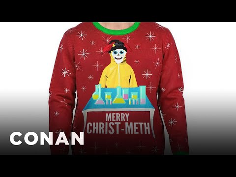 Walmart&39;s Other Problematic Christmas Sweaters - CONAN on TBS