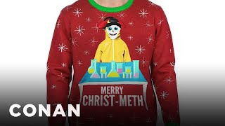 Walmart's Other Problematic Christmas Sweaters - CONAN on TBS