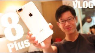 ついにiPhone8/8Plus実機インプレッション!美しいゴールド開封します!