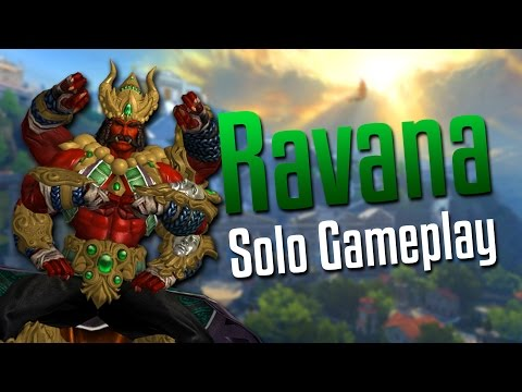 Smite: The Domination Continues- Ravana Solo Gameplay