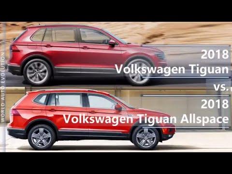 2018 Volkswagen Tiguan Vs