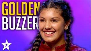 12 Y.O Gets GOLDEN BUZZER on SA's Got Talent | Got Talent Global