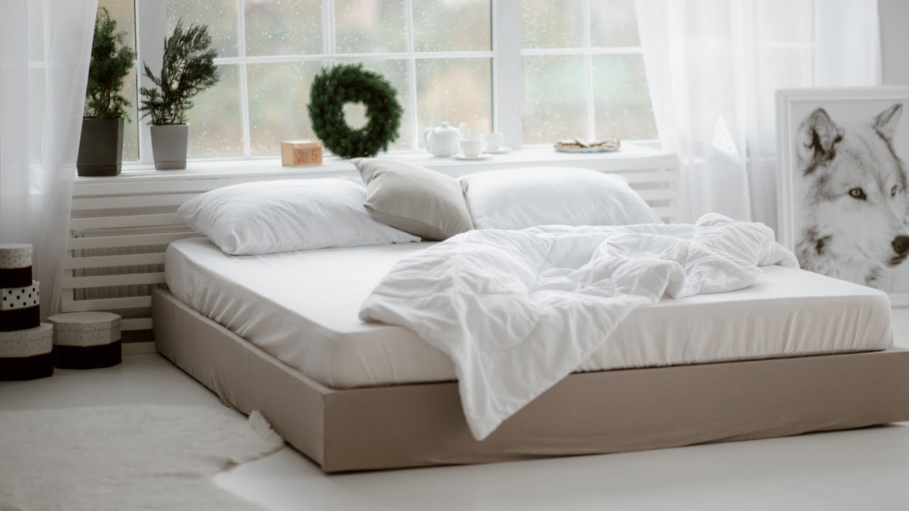 Cheap BED FRAME IDEAS - EASY DIY Bed Frame - How to Make a ... on Cheap Bed Ideas  id=96549