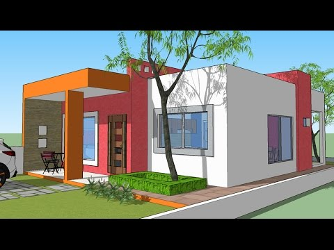planos casa terreno 8x20 youtube