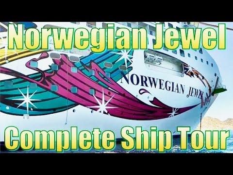 Norwegian Jewel Complete Ship Tour 2017 HD  挪威珠宝船之旅