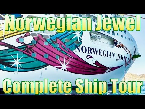 Norwegian Jewel Complete Ship Tour 2017 HD  挪威珠宝船之旅