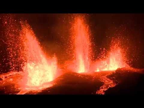 Eruption Piton de la Fournaise du 11 septembre 2016