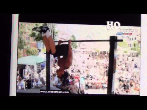 EUROSPORT 2 TV COUPE DU MONDE Bar TigerzZ street workout Paris
