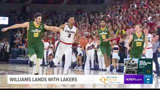 Lakers sign Johnathan Williams to summer league roster