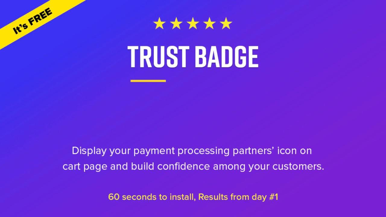 5fba88ab90a8 Free Trust Badge