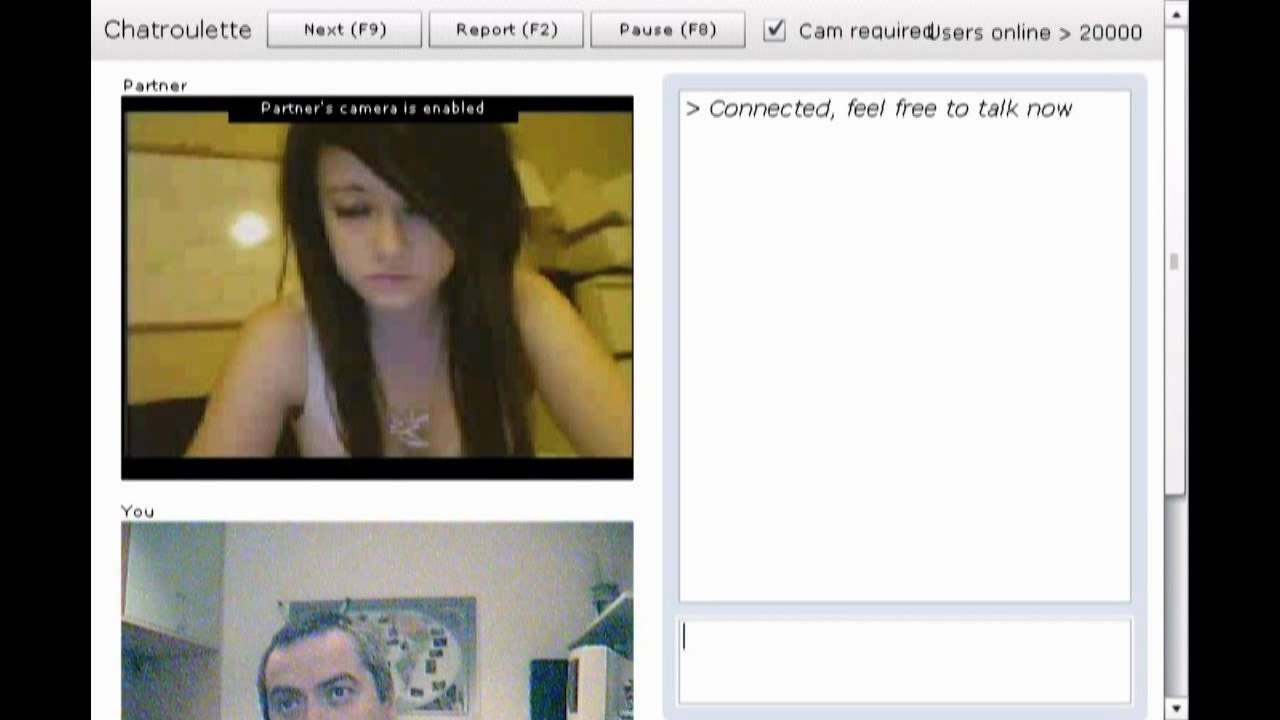 chatroulette naked