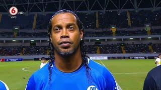 MESMO APOSENTADO, OLHA OQUE RONALDINHO GAÚCHO APRONTOU NESSE AMISTOSO NA COSTA RICA!