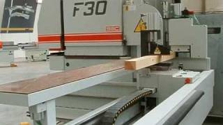 Sac F30 Cnc Window Frame Production Center Line Woodworking Machinery