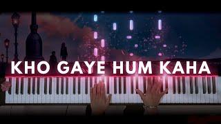 Kho Gaye Hum Kaha - Prateek Kuhad (Soothing Piano Cover)
