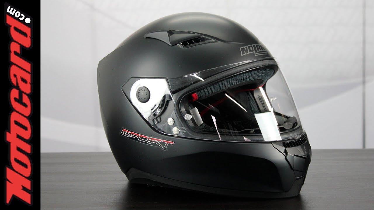 Contable Por separado sextante  Nolan N60-5: análisis del casco en Motocard.com - YouTube