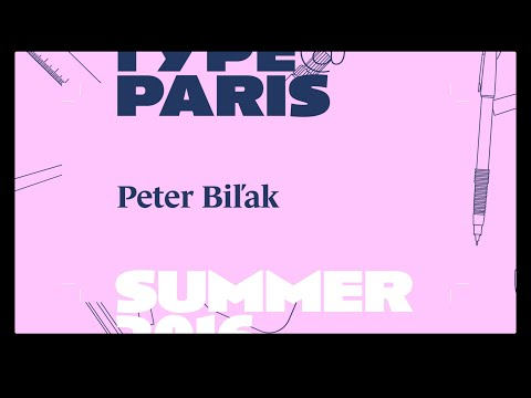 tptalks16: Peter Bilak