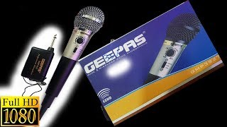 #Geepas Professional Wireless Microphone (Model GMP3927) : #Unboxing