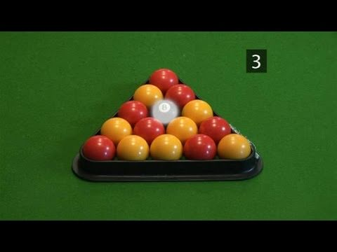 How To Master Racking Up Pool Balls - YouTube