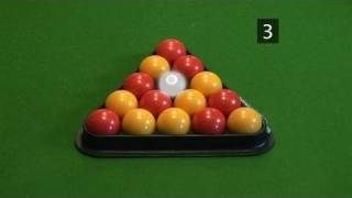 How To Master Racking Up Pool Balls