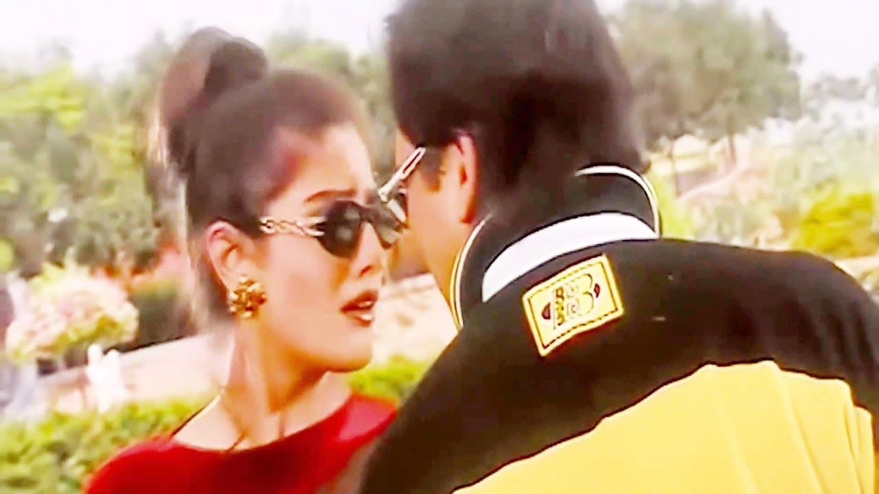 Download Ankhiyon Se Goli Mare   Sonu Nigam, Jaspinder Narula    Dulhe Raja 1998   Govinda, Raveena Tandon