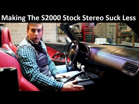 Honda S2000 Project Build: Modifying The Stock Radio -  Ep.4