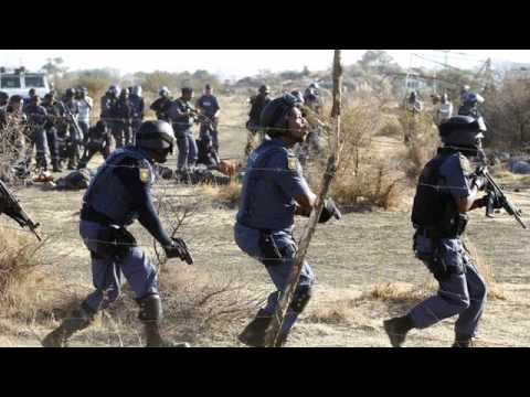 FSRN South African Police Kill Striking Miners