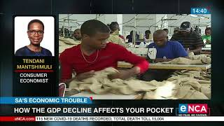 DISCUSSION   What Does The GDP Decline Mean For Consumers?