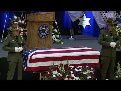 Funeral For Illinois State Trooper Nicholas Hopkins
