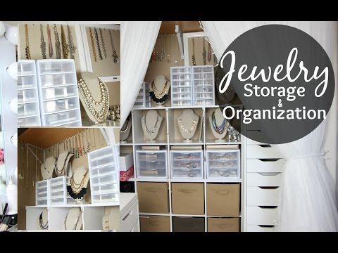 Jewelry Storage & Organization // Closet Tour // Jewelry Col