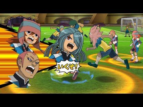 Inazuma Eleven GO Strikers 2013 Dark Emperors vs Raimon 2 Wii (Dolphin Emulator)