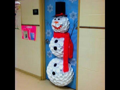 ideas para decorar la puerta de tu salon en o iglesia