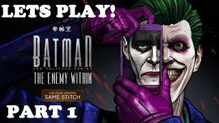 BATMAN: The Enemy Within FULL Episode 5 All Cutscenes (Villain Path) Same Stitch | Game Movie Part 1