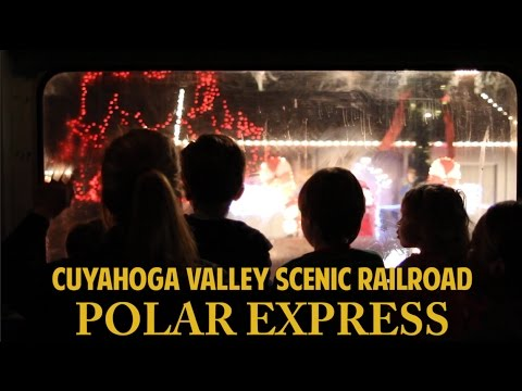 2016 Polar Express on the Cuyahoga Valley Scenic Railroad