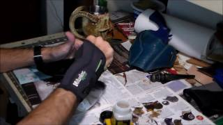Part 11-12: Top Coating a Leather Holster with Tan-Kote