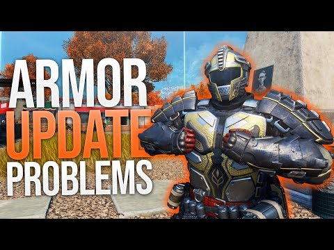Armor Update Problems (Blackout)