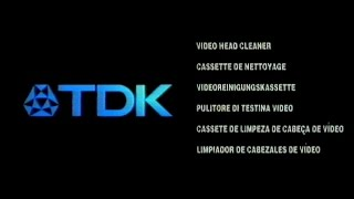 TDK Video Head Cleaner Tape
