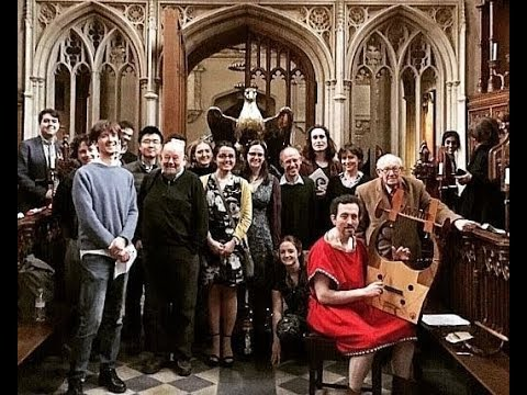 Ancient Lyres & Ovid at the University of Oxford!