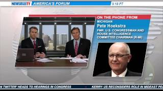 Pete Hoekstra- Former U.S. Congressman and Chairman of the House Intelligence Committee