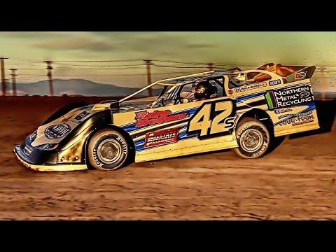 Super Late Model Main Feb 25th 2017 - dirt track racing video image