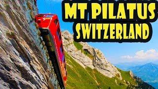 Mt Pilatus Switzerland - Golden Round Trip Travel Guide
