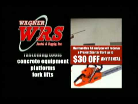 Wagner Rental and Supply Homeowner and Contractor Rental tools Equipment and Construction Supplies
