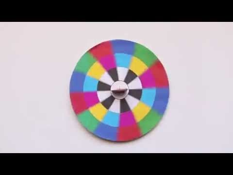 Spinning Top Optical Illusion DIY Toy