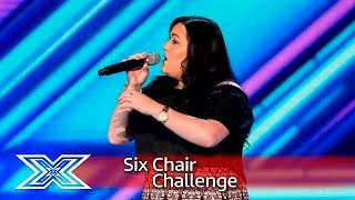 Kayleigh Marie Morgan sings Somewhere Over The Rainbow | Six Chair Challenge | The X Factor UK 2016