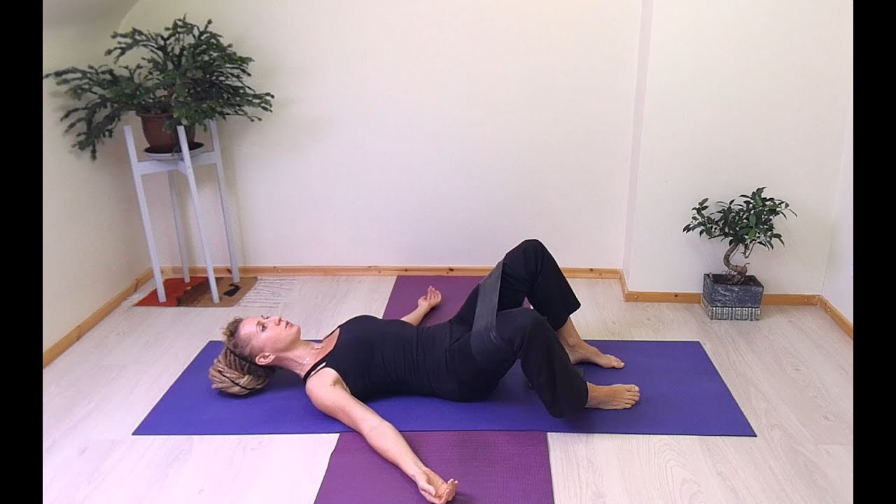 Supine Hip Abduction - Piriformis Syndrome / Sciatica Pain Relief