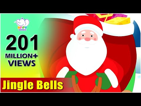Jingle Bells with Lyrics | Kids Christmas Songs | Christmas Carols 2018