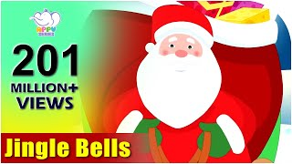 Jingle Bells with Lyrics | Kids Christmas Songs | Christmas Carols 2018 thumbnail